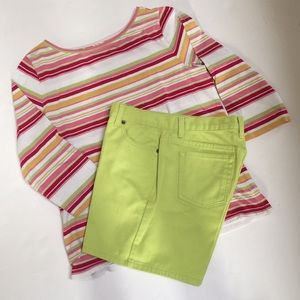 Liz Claiborne Jean Shorts
